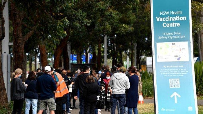 Demonstran Anti-Lockdown di Australia Bentrok dengan Polisi,  Langgar  Aturan Covid-19