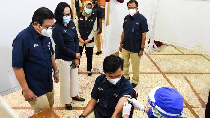 Pakai Sinopharm, Program Vaksin Gotong Royong Petrokimia Gresik Sasar 3.179 Peserta
