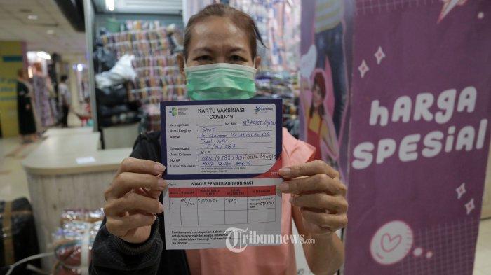 DKI Sedang Bahas Aturan Syarat Surat Vaksin Agar Bisa Kunjungi Tempat Publik Tertentu