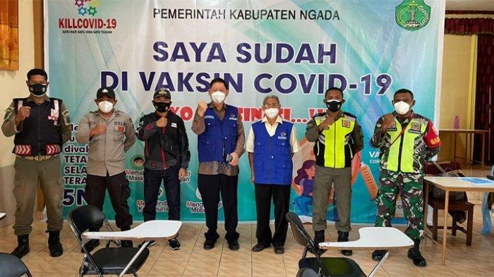 Vaksinasi Covid-19 Sasar 350 Warga di Kemah Tabor NTT
