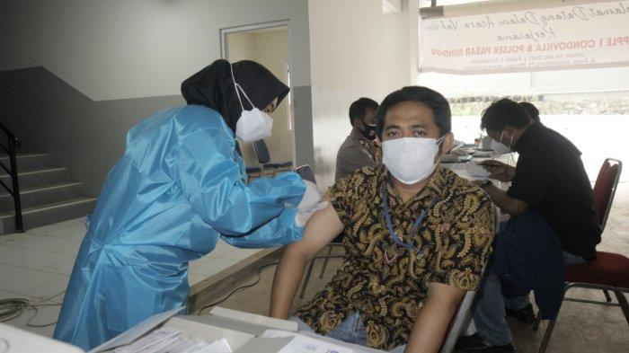 Pengembang Diamondland Vaksinasi 400 Orang