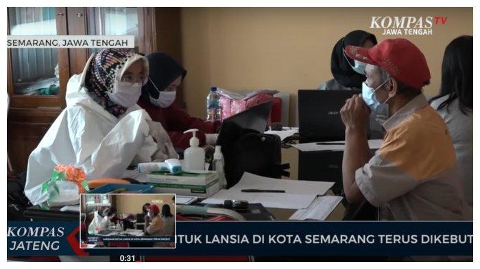 Percepat Vaksinasi, Puskesmas Karangayu Semarang Sasar Kaum Pra Lansia, Lansia, hingga Difabel