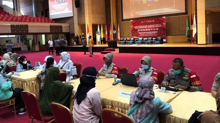 Vaksinasi Merdeka Diadakan Serentak di 13 Titik Seluruh Indonesia