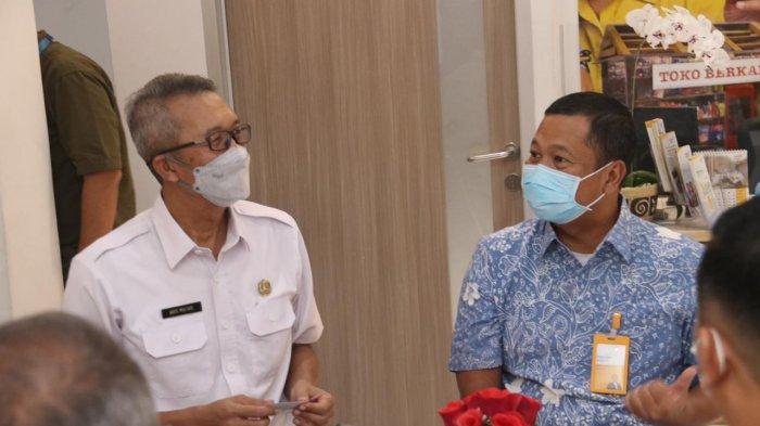 Bank Mantap-Dinkes Cirebon Vaksinasi Nasabah Pensiunan