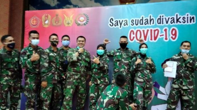 10.000 Vaksinator TNI Tersertifikasi Ditargetkan Siap Pekan Ini