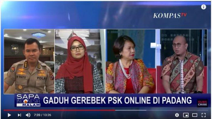 Program Sapa Indonesia Malam, Rabu (15/2/2020) (Tangkap Layar Youtube KompasTV).