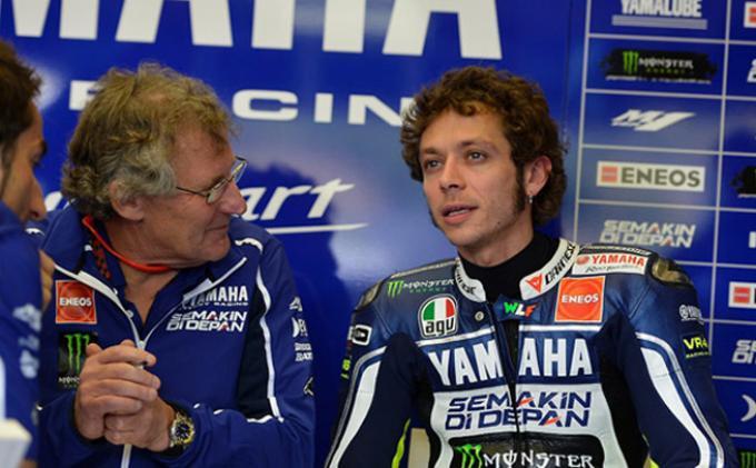 Valentino Rossi dan Kepala Mekanik Jeremy Burgess akhirnya Berpisah