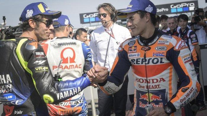 HASIL FP3 MotoGP Portugal 2021: Marquez & Rossi di Luar 10 Besar, Quartararo Tercepat