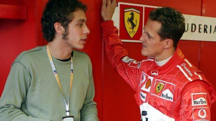 Banyak yang Belum Tahu Kalau Ternyata Valentino Rossi Pernah Nyaris Jadi Pembalap F1 di Tim Ferrari