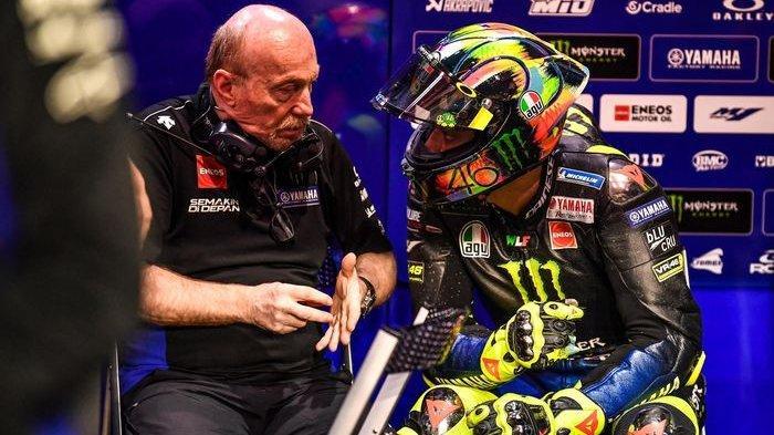 Valentino Rossi mengganti crew chief Silvano Galbusera di musim MotoGP 2020