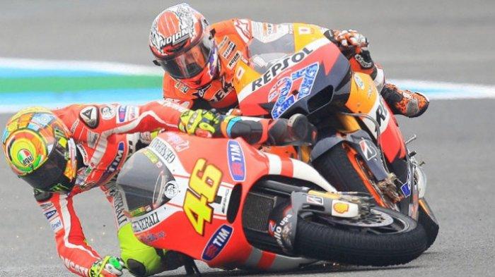 Komentar Menohok Casey Stoner soal Hasil Buruk Valentino Rossi di MotoGP 2019