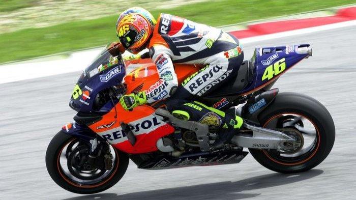Rossi Tak Masuk dalam Daftar 5 Besar Pebalap Honda Tersukses, Padahal Sudah Raih 33 Kemenangan