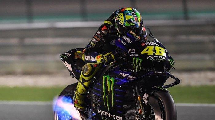 Valentino Rossi di tes pramusim MotoGP 2020 di Sirkuit Qatar (Instagram/motogp)