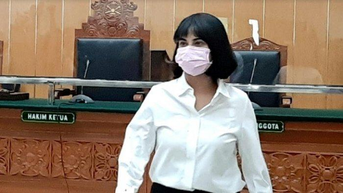 Vanessa Angel jalani sidang vonis di Pengadilan Negeri Jakarta Barat, Slipi, Jakarta Barat, Kamis (5/11/2020).