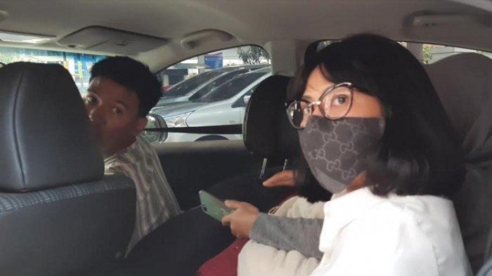 Vanessa Angel setelah selesai persidangan di Pengadilan Negeri Jakarta Barat, Senin (7/9/2020).