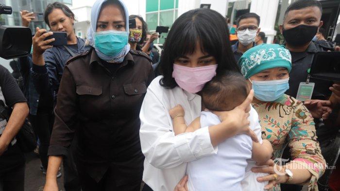 Vanessa Angel Sudah Siap Masuk Penjara, Tapi Kepikiran Anaknya, Gala Rewel Sebelum Berpisah