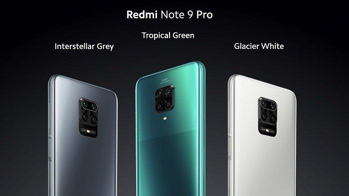 Varian warna redmi Note 9 pro