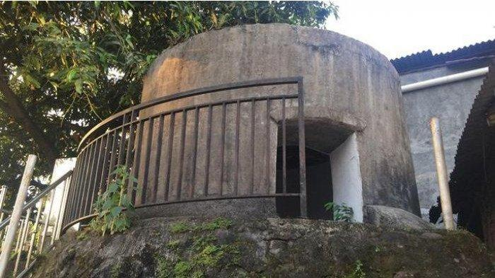 Veldbox peninggalan Belanda di wilayah Minahasa.