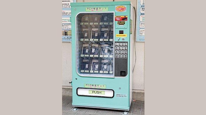 Tes PCR di Jepang Hanya Lewat Vending Machine
