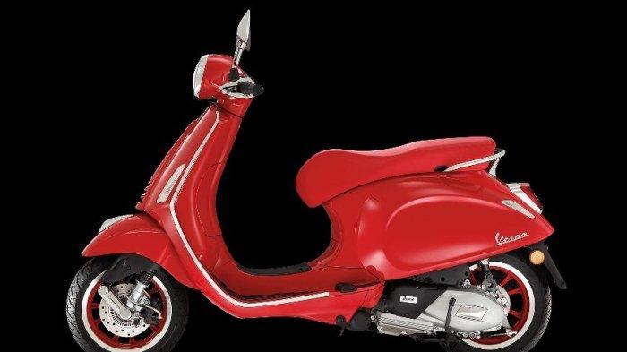 Dijual Terbatas, Vespa Primavera RED Dibanderol Rp 53,6 Juta