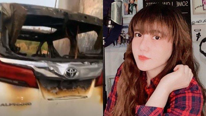 Setelah mobil alphardnya ludes dibakar orang tak dikenal, Via Vallen unggah ini di akun media sosial Instagramnya, @viavallen.