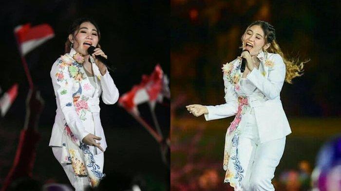 Via Vallen Lakukan Hal Ini Usai Meriahkan Opening Ceremony Asian Games 2018: Kapan Lagi Kaya Gini
