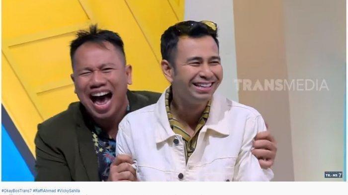 Vicky Prasetyo dan Raffi Ahmad