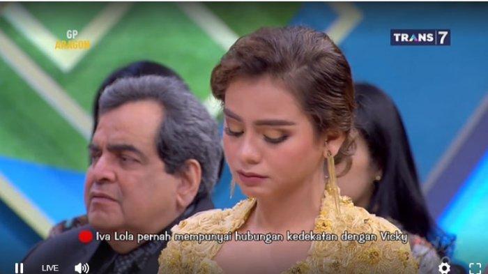 Acara lamaran Vicky Prasetyo dan Sahila Hisyam berubah tegang