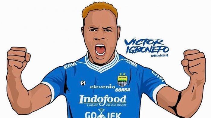 Cerita Victor Igbonefo Pernah Gagal Terpilih Main di Eropa hingga Kini Jadi Andalan Persib Bandung