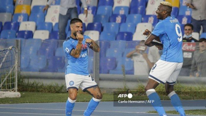 HasiL Serie A: Napoli Sapu Bersih Kemenangan, Lazio Menang Derby, Dybala Absen di Liga Champions