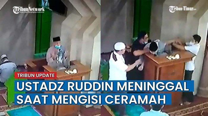 VIDEO Detik-detik Dosen UIN Makassar Meninggal Dunia saat Berceramah di Masjid