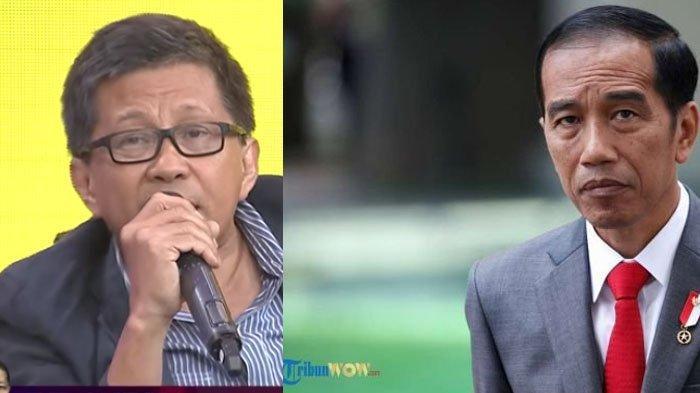 Rocky Gerung Sayangkan Keputusan Jokowi yang Pilih Datang ke SMK Ketimbang KPK saat Harkodia