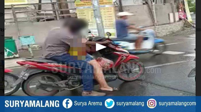 Viral Pengendara Motor Mesum di Jalan, Pelakunya Suami Istri, Pasal Pornografi Bisa Jerat Mereka