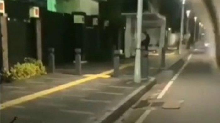 Viral Video Pria-Wanita Mesum di Halte Bus Senen Jakarta, Ini Penjelasan Polisi