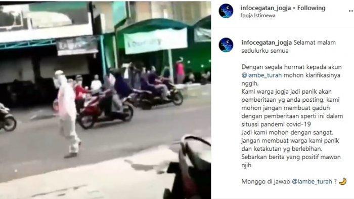 Viral Diduga Pasien Corona di Yogya Kabur, Kasatpol PP DIY hingga Pengunggah Video Beri Klarifikasi