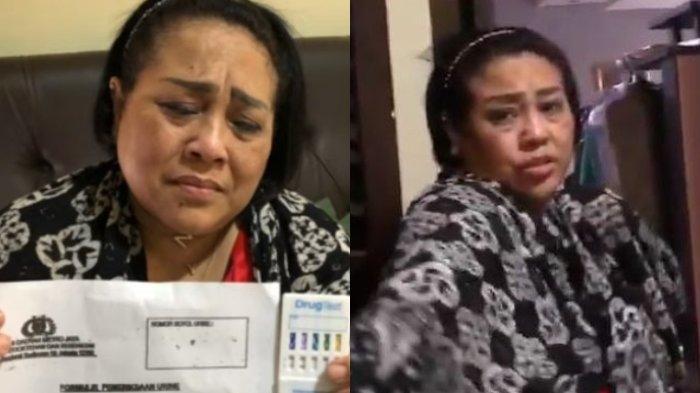 Video Penggerebekan Komedian Nunung, dengan Wajah Bersalah Akui Buang Barang Bukti di WC