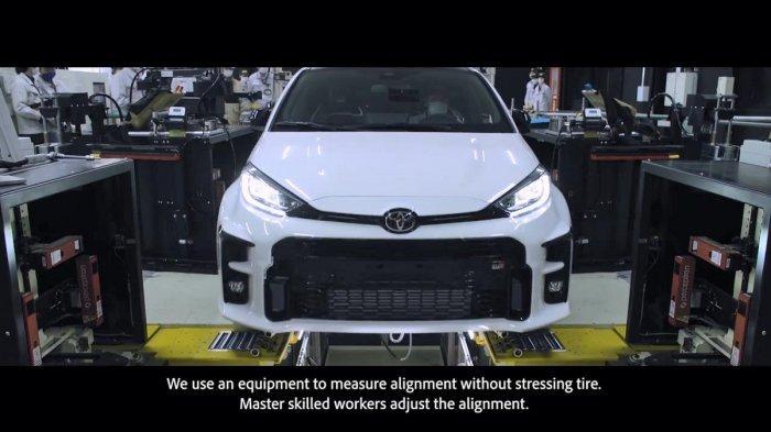 Toyota Rilis Video Proses Produksi GR Yaris