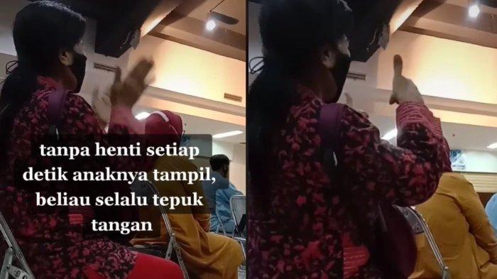 Video Haru Seorang Ibu Semangati Anaknya saat Lomba Viral, Pengunggah Sampai Teteskan Air Mata