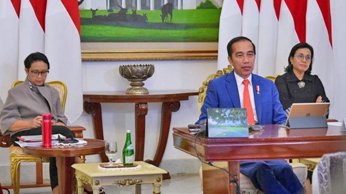 Video saat Presiden Jokowi Ikuti KTT Virtual G20 untuk Membahas Covid-19