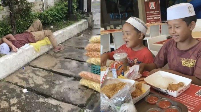 VIRAL Bocah Penjual Kerupuk Ditraktir Makan di Restoran, Akui Sangat Senang karena Baru Pertama Kali