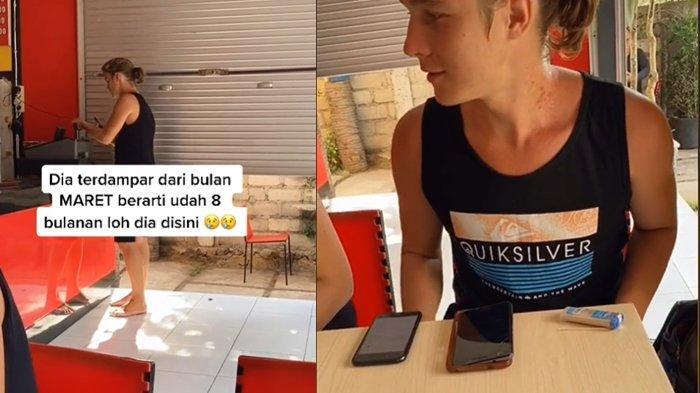 Video Viral Bule 'Terdampar' di Pulau Bali Berbulan-bulan, Tak Bisa Pulang karena Pandemi Covid-19