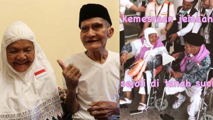 Video Viral Kakek Nenek, Mahmud Sopamena dan Karsum Litiloli Tak Mau Pisah saat Berangkat Haji, Bergandengan hingga Cemburu pada Petugas