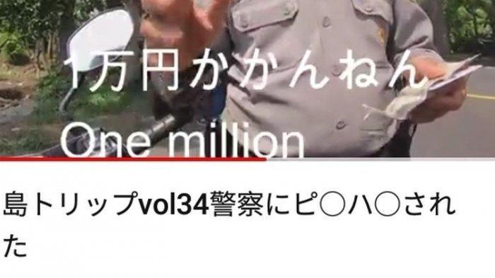 Oknum Polisi Minta Rp 1 Juta Saat Tilang Turis Jepang Terancam Dipecat Setelah Akui Perbuatannya