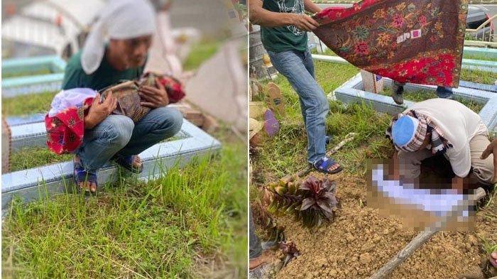 Potret Pilu Ayah Gendong Mayat Bayi, Bingung Cari Kuburan, Ditolak Warga Desa karena Miskin
