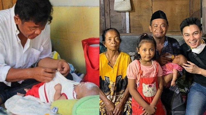 Baim Wong Turun Tangan, Nasib Bayi Bilqis yang Ikut Ayah Narik Angkot, Mandinya di Toilet Terminal