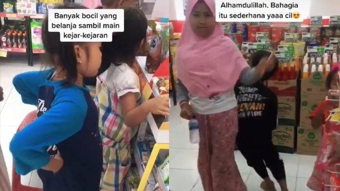 Viral cerita para bocah merasa kegirangan karena ada minimarket pertama di desa yang baru buka 2