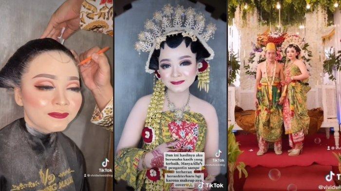 Viral cerita pengantin alami kecelakaan hingga wajah penuh lebam jelang pernikahan, begini hasil riasannya yang jadi sorotan.