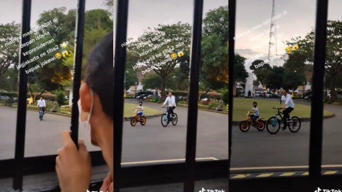 Viral cerita remaja sedang bersantai dan disapa Presiden Jokowi1
