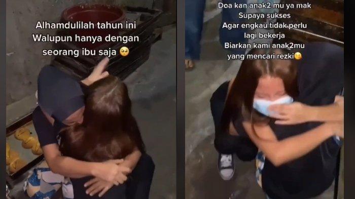 Viral cerita seorang anak perempuan yang memberi kejutan pada ibunya saat pulang kampung2