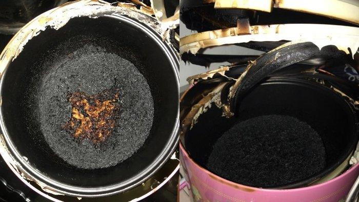Viral cerita warganet memasak nasi di rice cooker sampai gosong 3